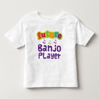 Jugador del banjo (futuro) remeras