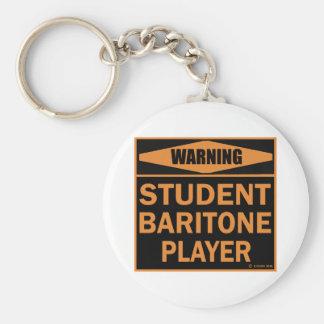Jugador del barítono del estudiante llaveros