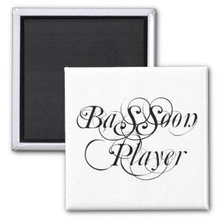 Jugador del Bassoon Imán Cuadrado