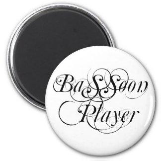 Jugador del Bassoon Imán Redondo 5 Cm