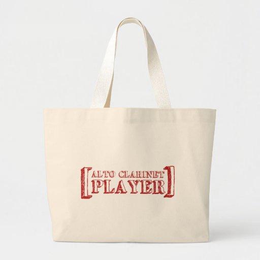 Jugador del Clarinet del alto Bolsas