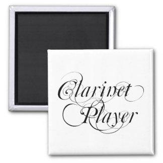 Jugador del Clarinet Imán Cuadrado