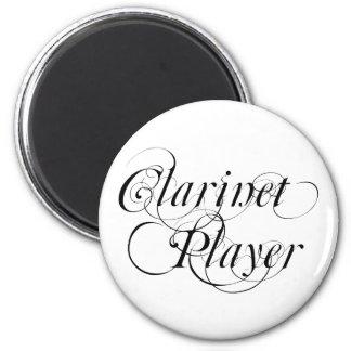 Jugador del Clarinet Imán Redondo 5 Cm