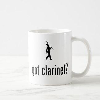 Jugador del Clarinet Tazas