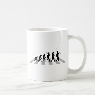 Jugador del Clarinet Taza De Café