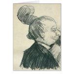 Jugador del Doble-Bajo de Van Gogh (F1244cv) Tarjeta