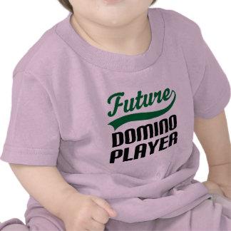 Jugador del dominó (futuro) camisetas