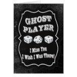 Jugador del fantasma de Bunco Felicitacion