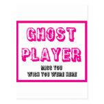 jugador del fantasma del bunco postal