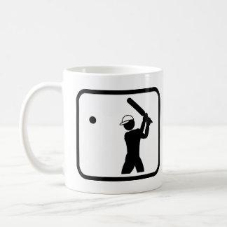 Jugador del grillo favorable taza de café