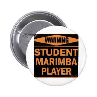 Jugador del Marimba del estudiante Pins