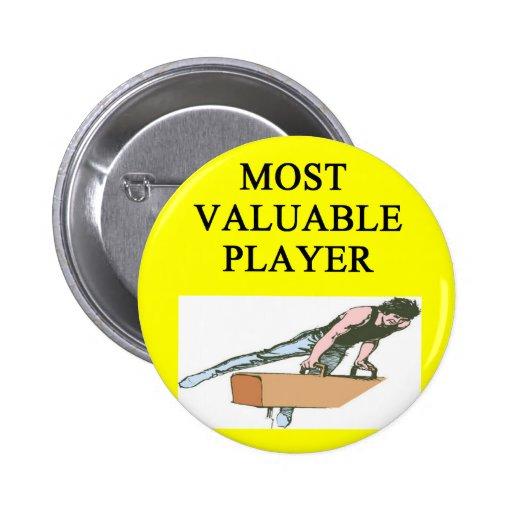 Jugador del objeto de valor del ost del gimnasta pins