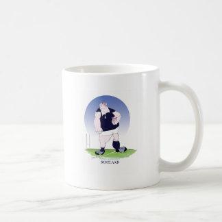 jugador del rugbi de Escocia, fernandes tony Taza De Café