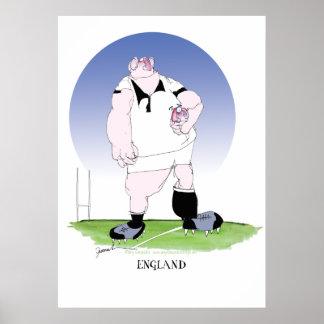 jugador del rugbi de Inglaterra, fernandes tony Impresiones
