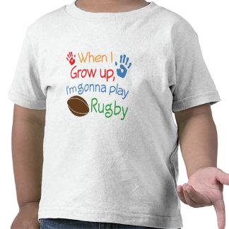 Jugador del rugbi (futuro) camiseta