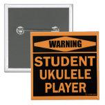 Jugador del Ukulele del estudiante Pin