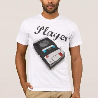 Jugador del vintage playera