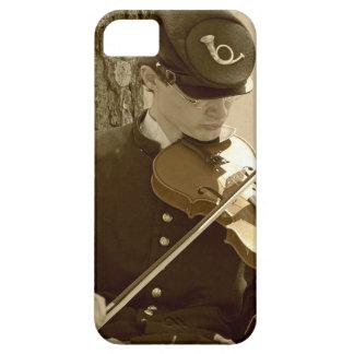 Jugador del violín de la guerra civil funda para iPhone SE/5/5s