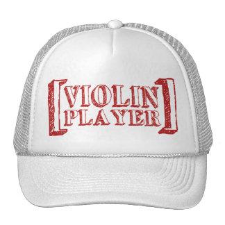 Jugador del violín gorro