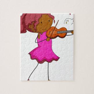 Jugador del violín puzzle