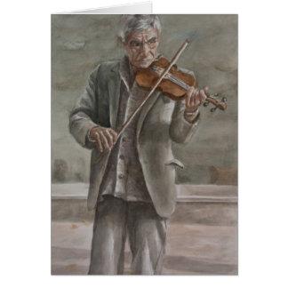 Jugador del violín, Subotica
