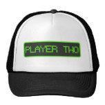 Jugador dos de nueve pedazos gorras de camionero