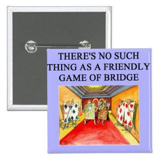 jugador duplicado del juego del puente pin