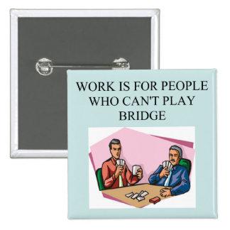 jugador duplicado del juego del puente pin cuadrado