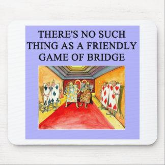 jugador duplicado del juego del puente alfombrillas de ratones