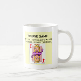 jugador duplicado del juego del puente taza clásica