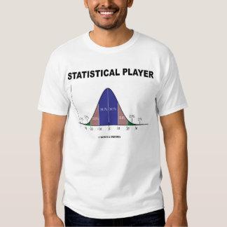 Jugador estadístico (humor de las estadísticas) remeras