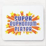 Jugador estupendo del Euphonium Alfombrillas De Ratón