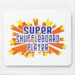 Jugador estupendo del Shuffleboard Tapete De Ratón