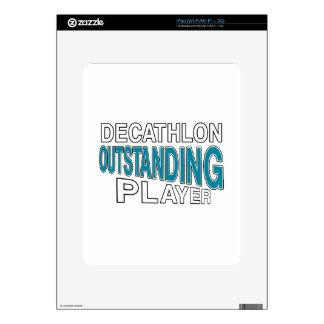 JUGADOR EXCEPCIONAL DEL DECATHLON iPad SKIN