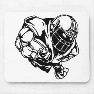 jugador footbal alfombrillas de raton
