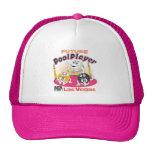 Jugador futuro de la piscina - rosa gorra