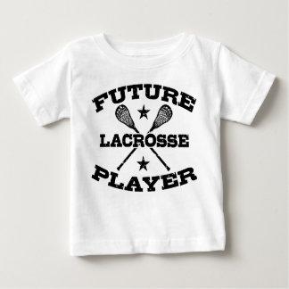 Jugador futuro de LaCrosse Playera De Bebé