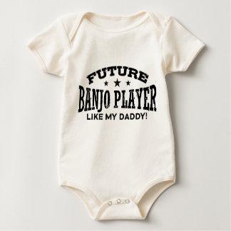 Jugador futuro del banjo body para bebé