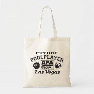 Jugador futuro Las Vegas de la piscina Bolsa Tela Barata