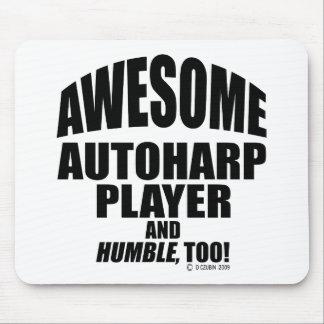 Jugador impresionante de Autoharp Mouse Pad