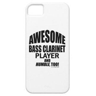 Jugador impresionante del clarinete bajo iPhone 5 Case-Mate cárcasa