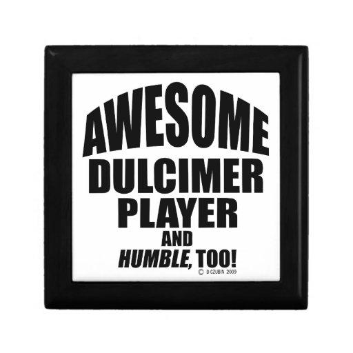 Jugador impresionante del Dulcimer Caja De Recuerdo