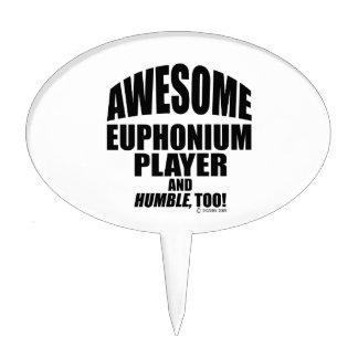 Jugador impresionante del Euphonium Figura De Tarta