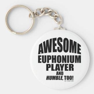 Jugador impresionante del Euphonium Llavero Personalizado
