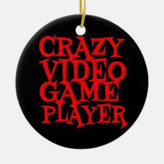 Jugador loco del videojuego ornatos