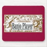 Jugador Mousepad del banjo