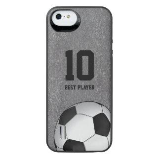Jugador Nomber del fútbol del fútbol el | el mejor Funda Con Bateía Para iPhone SE/5/5s