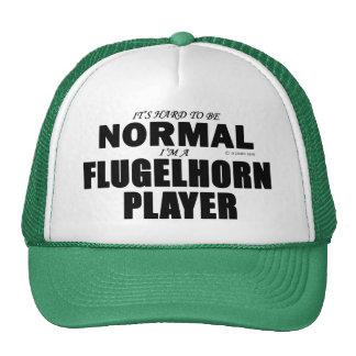 Jugador normal de Flugelhorn Gorros Bordados