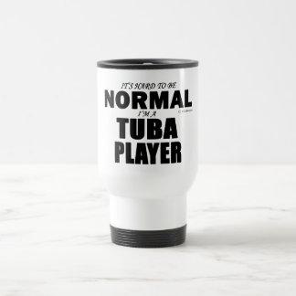 Jugador normal de la tuba taza térmica
