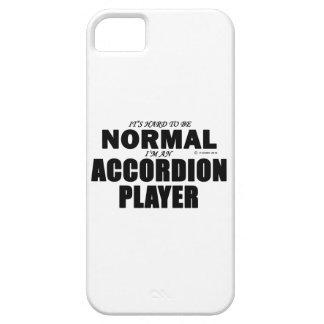 Jugador normal del acordeón iPhone 5 carcasas